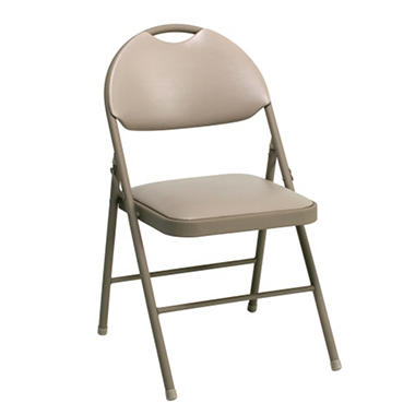 Cosco Vinyl Comfort Chair Padded Seat and Back
