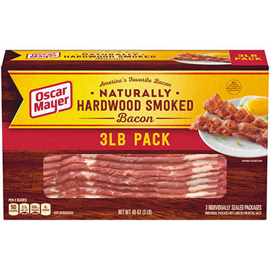 Oscar Mayer Bacon (1lb. pkg., 3 ct.)