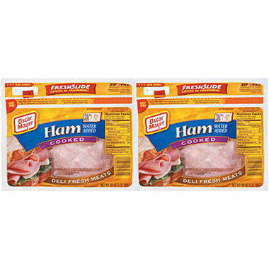 Oscar Mayer® Cooked Ham 20 oz. - 2 ct.