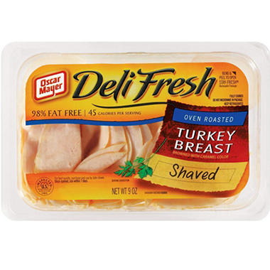 Oscar Mayer® Oven Roasted Turkey Breast 9 oz. - 3 ct.