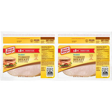 Oscar Mayer Smoked Turkey Breast - 36 oz.