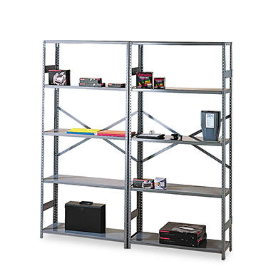 Tennsco - Medium Gray Commercial Steel Shelving - Various Sizes