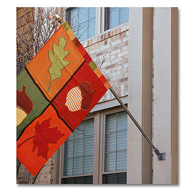 5' Aluminum Flagpole - 4 pcs.