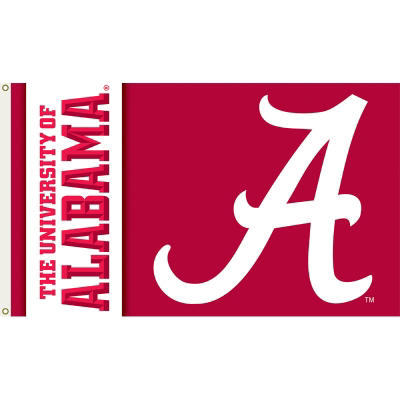 NCAA Alabama Crimson Tide 3' x 5' Flag