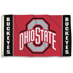 NCAA Ohio State Buckeyes  3' x 5' Flag