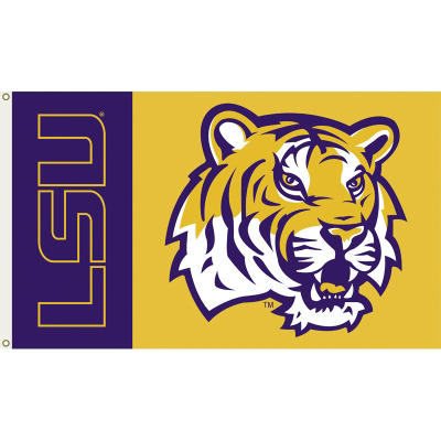 NCAA LSU Tigers 3' x 5' Flag