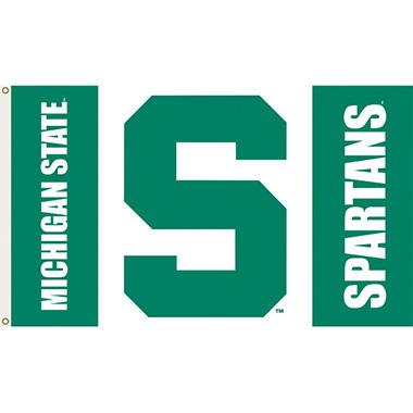 NCAA Michigan State Spartans - 3 x 5 Flag