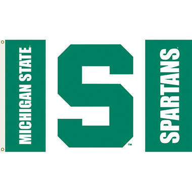 NCAA Michigan State Spartans - 3 x 5 Flag
