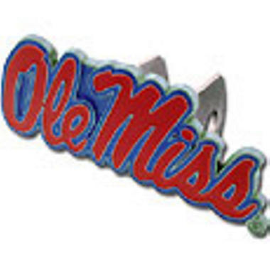 NCAA Mississippi Rebels Hitch Cover