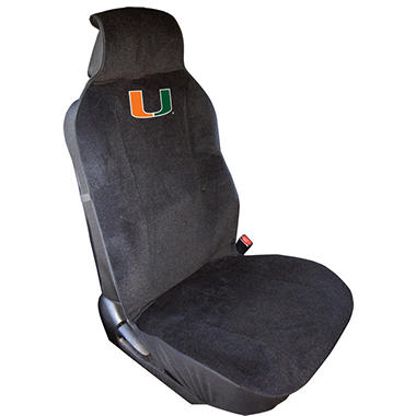 NCAA Miami Hurricanes Seat Cover