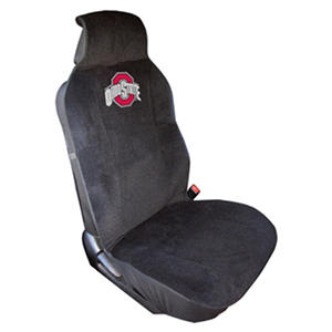 NCAA Ohio State Buckeyes Plush Seat Cover