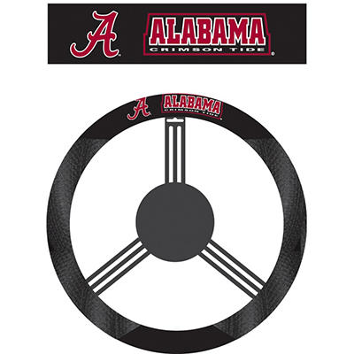 NCAA Alabama Crimson Tide Steering Wheel Cover