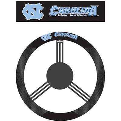 NCAA North Carolina Tarheels Steering Wheel Cover