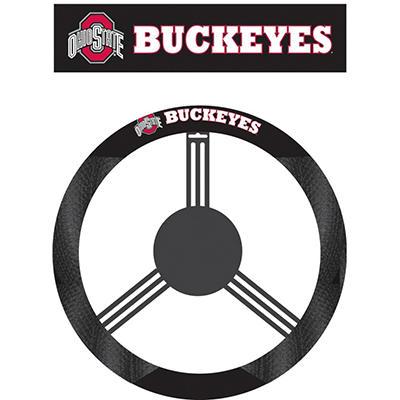 NCAA Ohio State Buckeyes Steering Wheel Cover