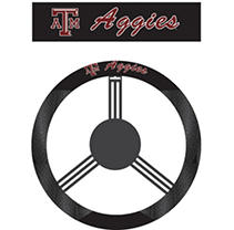 Click here for NCAA Texas A & M Aggies Steering Wheel Cover prices