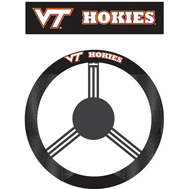 NCAA Virginia Tech Hokies Steering Wheel Cover