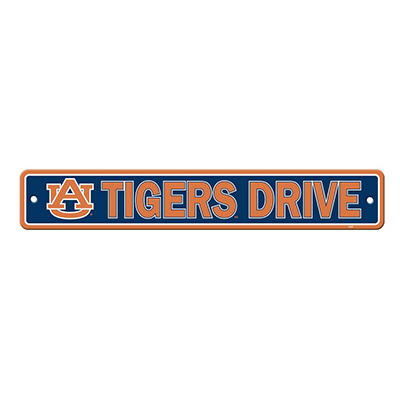 NCAA Auburn Tigers Street Sign