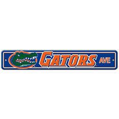 NCAA Florida Gators Street Sign