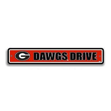 NCAA Georgia Bulldogs Street Sign