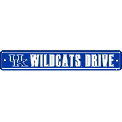 NCAA Kentucky Wildcats Street Sign