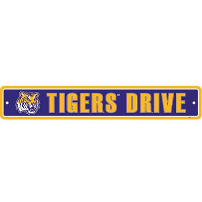 NCAA LSU Tigers Street Sign