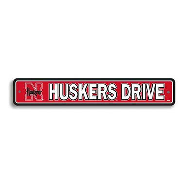 NCAA Nebraska Cornhuskers Street Sign