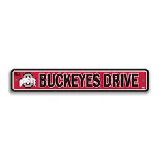 NCAA Ohio State Buckeyes Street Sign