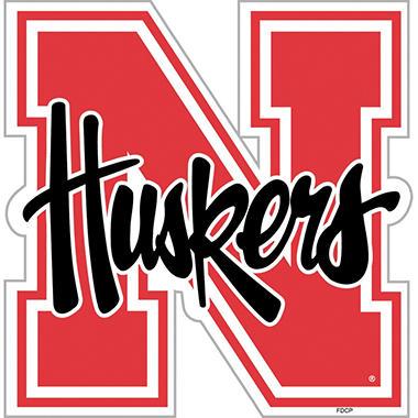 NCAA Nebraska Cornhuskers Team Magnet