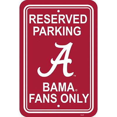 NCAA Alabama Crimson Tide Parking Sign