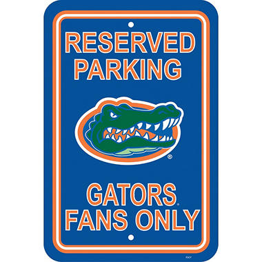 NCAA Florida Gators Parking Sign