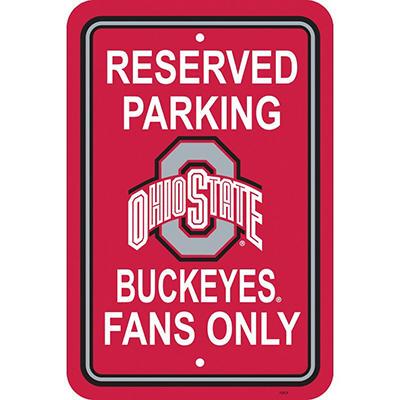 NCAA Ohio State Buckeyes Parking Sign