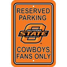 NCAA Oklahoma State Cowboys Parking Sign