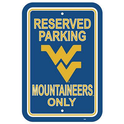 NCAA West Virginia Mountianeers Parking Sign