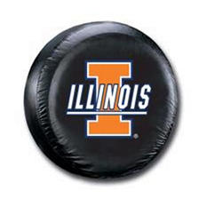 NCAA Illinois Fighting Illini Tire Cover
