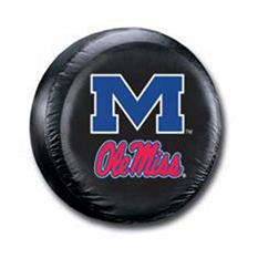 NCAA Mississippi Rebels Tire Cover