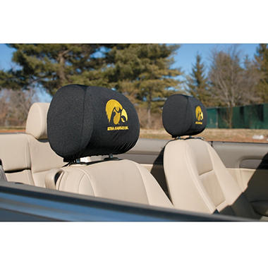 NCAA Iowa Hawkeyes Headrest Cover