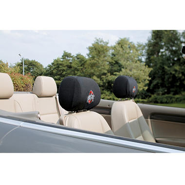 NCAA Ohio State Buckeyes Headrest Cover