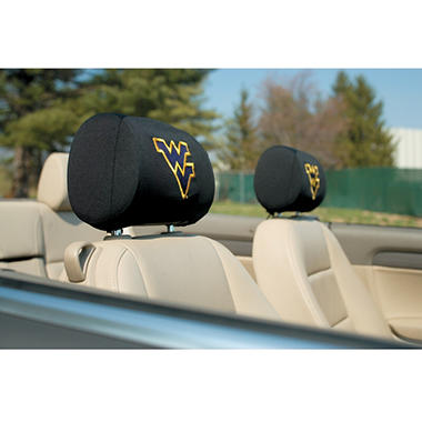 NCAA West Virginia Mountianeers Headrest Cover (Save Now)