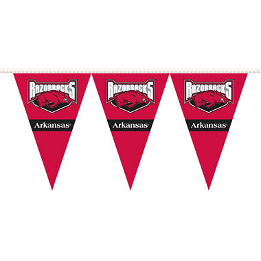 NCAA Arkansas Razorbacks Party Pennant