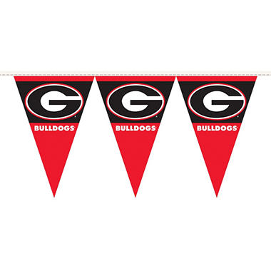NCAA Georgia Bulldogs Party Pennant