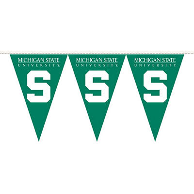 NCAA Michigan State Spartans Party Pennant