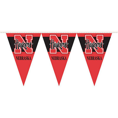 NCAA Nebraska Cornhuskers Party Pennant
