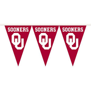 NCAA Oklahoma Sooners Party Pennant (Save Now)