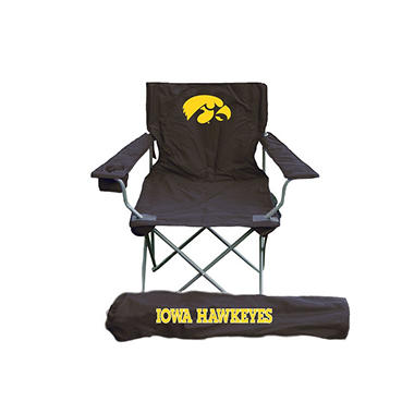 NCAA Iowa Hawkeyes Tailgating Chair