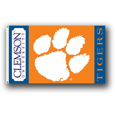 NCAA Clemson Tigers - 3 x 5 Flag