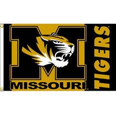 NCAA Missouri Tigers - 3 x 5 Flag