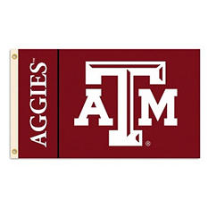 NCAA Texas A&M Aggies - 3 x 5 Flag