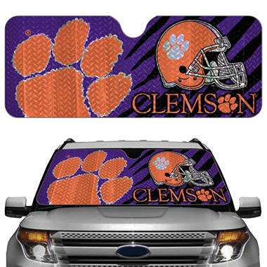 NCAA Auto Sun Shade - Clemson Tigers (Save Now)
