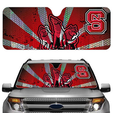 NCAA Auto Sun Shade - North Carolina State (Save Now)
