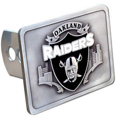 NFL Oakland Raiders Hitch Cover